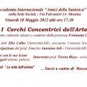 I Cerchi Concentrici dell'Arte 18 maggio 2012